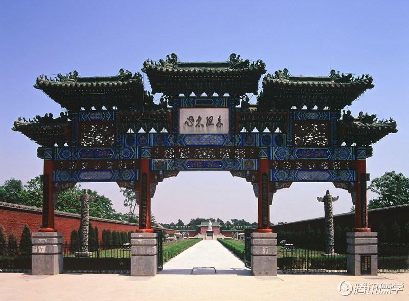 林氏祖先:河南新乡比干庙